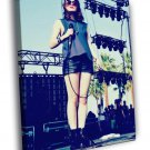 Chvrches Lauren Mayberry Synthpop Music Group 50x40 Framed Canvas Print
