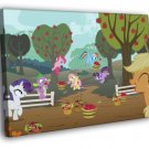 Characters Funny My Little Pony Friendship 50x40 Framed Canvas Print