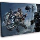 ISA Intruder Dropship Killzone Game Painting 50x40 Framed Canvas Print
