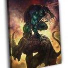 Raphael Teenage Mutant Ninja Turtles Dark Art 50x40 Framed Canvas Print
