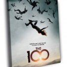 The 100 Awesome Tv Series 50x40 Framed Canvas Print
