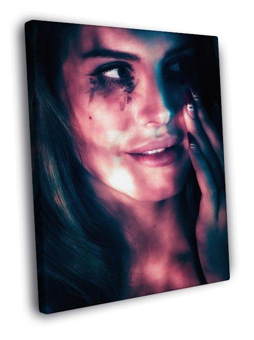 Lana Del Rey Amazing Beautiful Portrait Tears 50x40 Framed Canvas Print