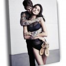 Irina Shayk Sexy Model 50x40 Framed Canvas Print