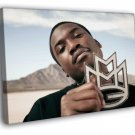 Maybach Music Group MMG Meek Mill Hip Hop Rap 50x40 Framed Canvas Print