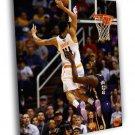 Gerald Green Dunk Phoenix Suns Basketball 50x40 Framed Canvas Print