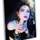 Madonna Louise Ciccone Hot Retro Vintage 50x40 Framed Canvas Print