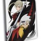 Soul Eater Maka Albarn Soul Eater Anime Manga 50x40 Framed Canvas Print