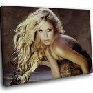 Shakira Hot Sexy Singer Latin Pop Music 50x40 Framed Canvas Art Print