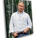 Vladimir Putin Russian President 50x40 Framed Canvas Art Print