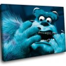 Monsters Inc Animated Comedy 50x40 Framed Canvas Art Print
