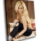 Kellie Pickler Singer Country Music Sexy Blonde 50x40 Framed Canvas Art Print
