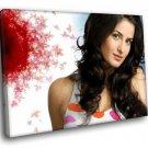 Katrina Kaif Indian Actress Bollywood 50x40 Framed Canvas Art Print