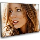 Kate Beckinsale Hot Actress 50x40 Framed Canvas Art Print