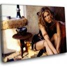 Jennifer Aniston Hot Blonde Actress 50x40 Framed Canvas Art Print