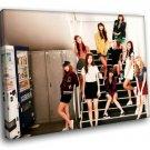 Girls Generation Korean Girl Group Pop Music 50x40 Framed Canvas Art Print