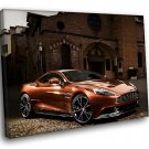 Aston Martin Vanquish Sports Car 50x40 Framed Canvas Art Print