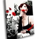 Amanda Palmer The Dresden Dolls Cabaret Music 50x40 Framed Canvas Art Print