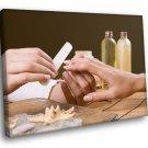 SPA Treatment Manicure Hand Care Beauty Salon 50x40 Framed Canvas Art Print