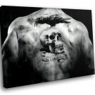 The Expendables Back Tattoo Skull Raven 50x40 Framed Canvas Art Print
