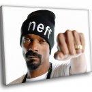 Snoop Dogg Rapper Music 50x40 Framed Canvas Art Print