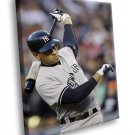 Mark Teixeira Baseball New York Yankees Sport 50x40 Framed Canvas Art Print