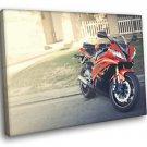 Sport Bike Sunshine 50x40 Framed Canvas Art Print