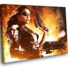 Michelle Rodriguez Machete Kills Luz Movie 50x40 Framed Canvas Art Print