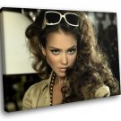 Jessica Alba Actress Sin City Dark Angel 50x40 Framed Canvas Art Print