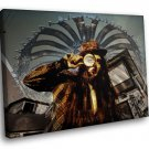 Bassnectar Breakbeat Electronic Music 50x40 Framed Canvas Art Print