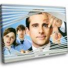 The Office TV Series Comedy Steve Carell Movie 50x40 Framed Canvas Art Print