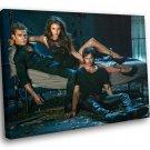 The Vampire Diaries TV Series Drama 50x40 Framed Canvas Art Print