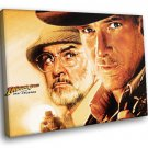 Indiana Jones And The Last Crusade George Lucas 50x40 Framed Canvas Art Print