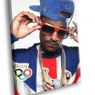 Big Sean Rapper Hip Hop Singer Sunglasses Chain 50x40 Framed Canvas Art Print