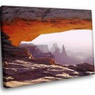 The Grand Canyon US Arizona Rocks Sun 50x40 Framed Canvas Art Print