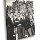 The Smiths Rock Band Music BW 40x30 Framed Canvas Print