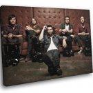 Maroon 5 Pop Rock Band Music 40x30 Framed Canvas Print