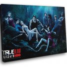 True Blood Cast Characters TV Series 40x30 Framed Canvas Print