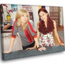 Sam Cat Jennette McCurdy Ariana Grande TV Series 40x30 Framed Canvas Print