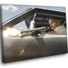 Fast Furious 4 Vin Diesel Dominic Toretto Movie 40x30 Framed Canvas Print