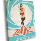 Zardoz Movie 1974 Sean Connery Vintage Cool Art 40x30 Framed Canvas Print