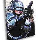 Robocop 1987 Classic Movie Art Alex Murphy 40x30 Framed Canvas Print