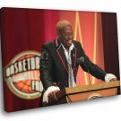 Dennis Rodman Hall Of Fame Speech Sport 40x30 Framed Canvas Print