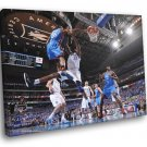 Kevin Durant Monster Dunk Brendan Haywood 40x30 Framed Canvas Print
