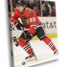 Patrick Kane Chicago Blackhawks Hockey Sport 40x30 Framed Canvas Print