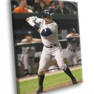 Alex Rodriguez New York Yankees Baseball Sport 40x30 Framed Canvas Print