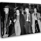 Sex Pistols Awesome BW Punk Rock Music Band 40x30 Framed Canvas Print