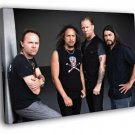 Metallica Ulrich Hammett Hetfield Trujillo 40x30 Framed Canvas Print