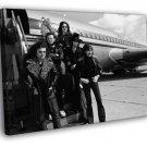 Deep Purple Retro Hard Rock Heavy Metal Band 40x30 Framed Canvas Print