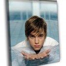 Jesse McCartney Water Swimming Pool Hot Singer 40x30 Framed Canvas Print