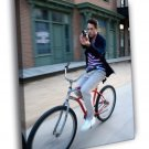 Robert Downey Jr Awesome Bike Pistol Hot Rare 40x30 Framed Canvas Print